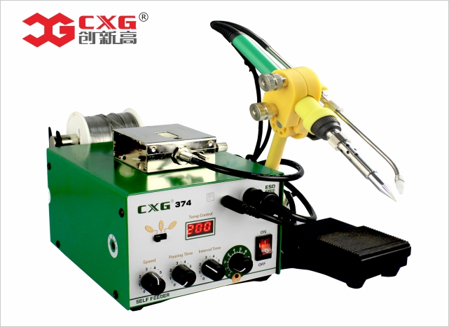 374 Automatic tin supply free-lead soldering station 90W