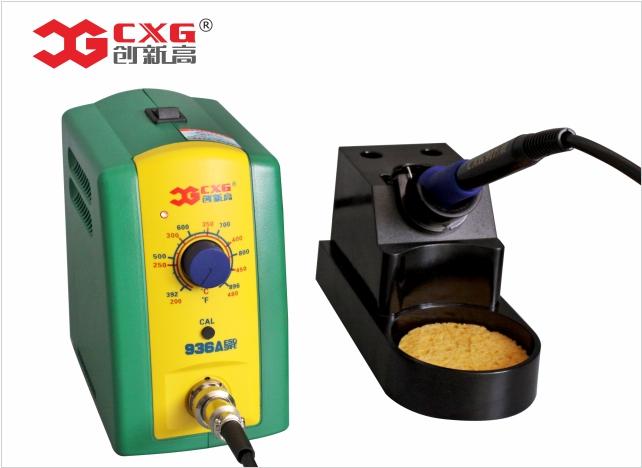 936焊台 CXG-936A 60W 可调恒温无铅焊台,优质拆消静电型焊台
